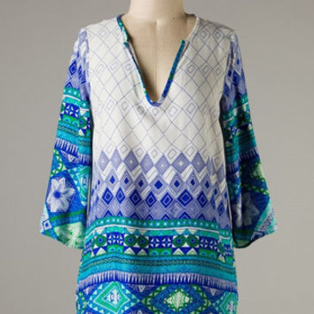 You'll Go Far Tunic - Shoreline Boutique