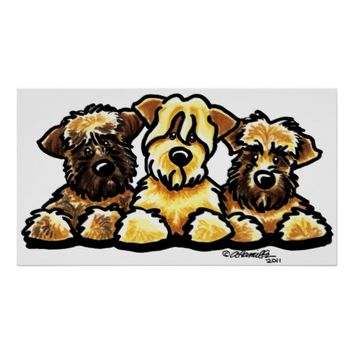 Wheaten Terrier Cartoon