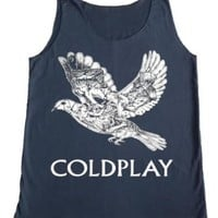 TFM Men's Coldplay Bird Rock Tank Top