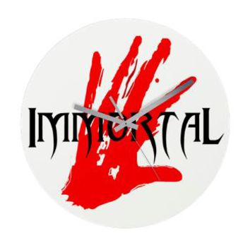 Immortal Cross - Vampire Wall Clock - Girl Tease