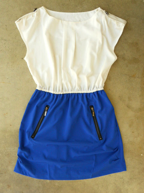 Hey Sailor Dress in Marin [2743] - $34.00 : Vintage Inspired Clothing & Affordable Summer Dresses, deloom | Modern. Vintage. Crafted.