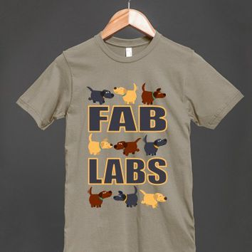 Fab Labs Unisex Organic T-Shirt by Cheerful Madness!!