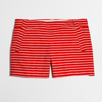 "Factory 5"" printed stretch chino short - novelty - FactoryWomen's Shorts - J.Crew Factory"