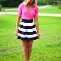 The Bold & Beautiful Skirt in Navy