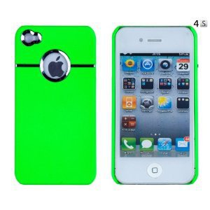 Green Chrome Case for Apple iPhone 4, 4S (AT&T, Verizon, Sprint)