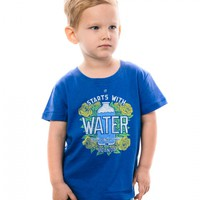 Start with Water Toddler Tee