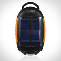 Solar Portable Battery Pack with Flashlight and Lantern - Ideal for Charging iPhone, iPod, MP3, Droid, Smartphones, and Other USB Powered Devices - Unit Great for Camping, Hiking, and Other Outdoor Activites