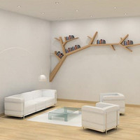 Tree Branch Bookshelf | Toxel