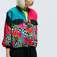 Vintage One-Of-A-Kind Floral Bomber - Urban Outfitters