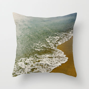 Summer freshness Throw Pillow by DejaReve