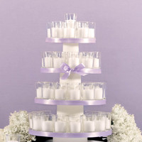 Product: Set of 72 10 hour Votive Candles & Candle Holders