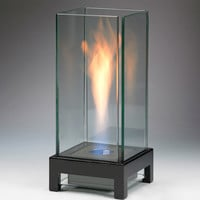 "Product: 13.78""H x 6.3"" x 6.3"" - Stratos Ethanol Fireplace -"