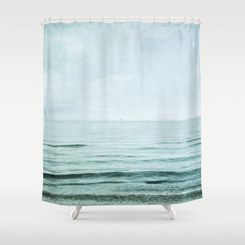 distance I Shower Curtain by Iris Lehnhardt