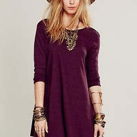 Free People Womens Beatnik Tunic