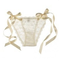 Hanky Panky Victoria Bridal Side-Tie panty
