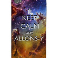 Keep Calm and Allonsy Space iPhone 4 Case by Caffrin25 on Etsy