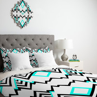 Elisabeth Fredriksson wicked valley pattern 1 Duvet cover