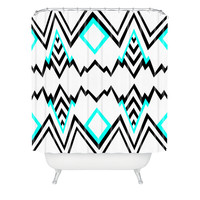 Elisabeth Fredriksson Wicked Valley Pattern 1 Shower Curtain | DENY Designs Home Accessories