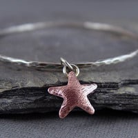 Starfish Bangle Bracelet Beach Jewelry ocean Jewelry by HapaGirls