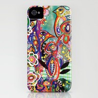 purple birds iPhone Case by Randi Antonsen | Society6