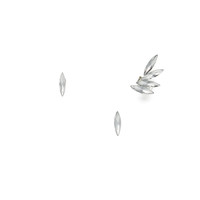 Crystal Blades Ear Cuff Set