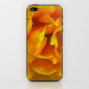 Rose Drops iPhone & iPod Skin by Ia Loredana | Society6