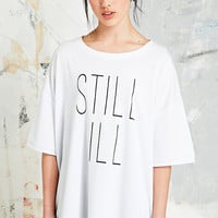 Pippa Lynn Still Ill Jersey Tee in White - Urban Outfitters