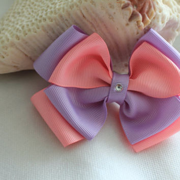Hair Bow Small Little Girls Hair Accessories Muli Color Hair Bow Kids Boutique Fashion Hair Clip Hairbow