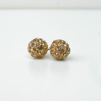 Sparkling Sand Studs [5655] - $9.00 : Vintage Inspired Clothing & Affordable Dresses, deloom | Modern. Vintage. Crafted.