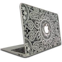 Macbook Pro (15 inch) Vinyl, Removable Skin - Lace