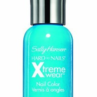 Sally Hansen Hard As Nails Xtreme Wear, Blue Me Away, 0.4 Fluid Oz, 2 Ea