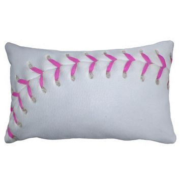 Pink Stitches Baseball / Softball
