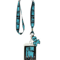 All Time Low Skully Lanyard