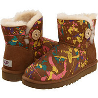 UGG Mini Bailey Button Paint Splatter at 6pm.com