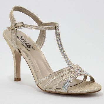 Avril by Sizzle Sparkly Strappy Sandal