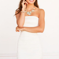BAYONNE BANDAGED DRESS