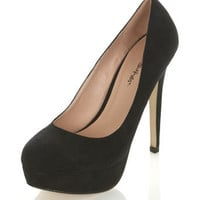 SASSY Black Court Shoe - Miss Selfridge