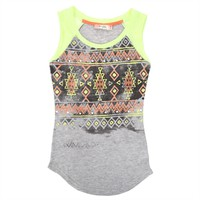 Miss Me Girls 7-16 Tribal Print Tank at Von Maur