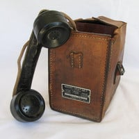 Vintage Linemans Phone West Test Set by Automatic by ifindubuy
