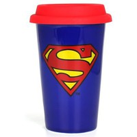 Superman Double Walled Ceramic Mug