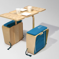 Jeriel Bobbe's portable picnic table | Design | Agenda | Phaidon