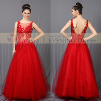 Wholesaler Red Lace| Wedding Dress Backless Long Red| Prom Dress |2014 Made In China - Buy Prom Dresses,Long Puffy Prom Dresses,Red Lace Prom Dress Product on Alibaba.com