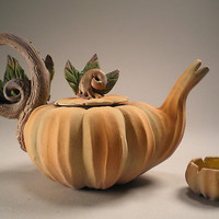 Cinderella&#x27;s Midnight Tea: Nancy Y. Adams: Ceramic Teapot - Artful Home