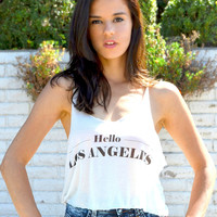 Hello Los Angeles Tank | Shop Civilized