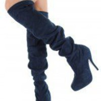 Liliana Joyas-4 Slouchy Knee High Boot