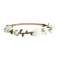 H&M - Hairband with Flowers -