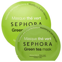 SEPHORA COLLECTION Green Tea mask - Mattifying