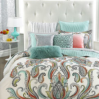 INC International Concepts Marni King Duvet Cover