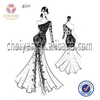 High Leg Slit Wedding Dress Wholesaler Appliques Cheap Mermaid Prom Dresses, View Appliques Cheap Mermaid Prom Dresses, CHOIYES Product Details from Chaozhou Choiyes Evening Dress Co., Ltd. on Alibaba.com