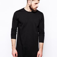 Abandon Ship Super Longline T-Shirt with Long Sleeves